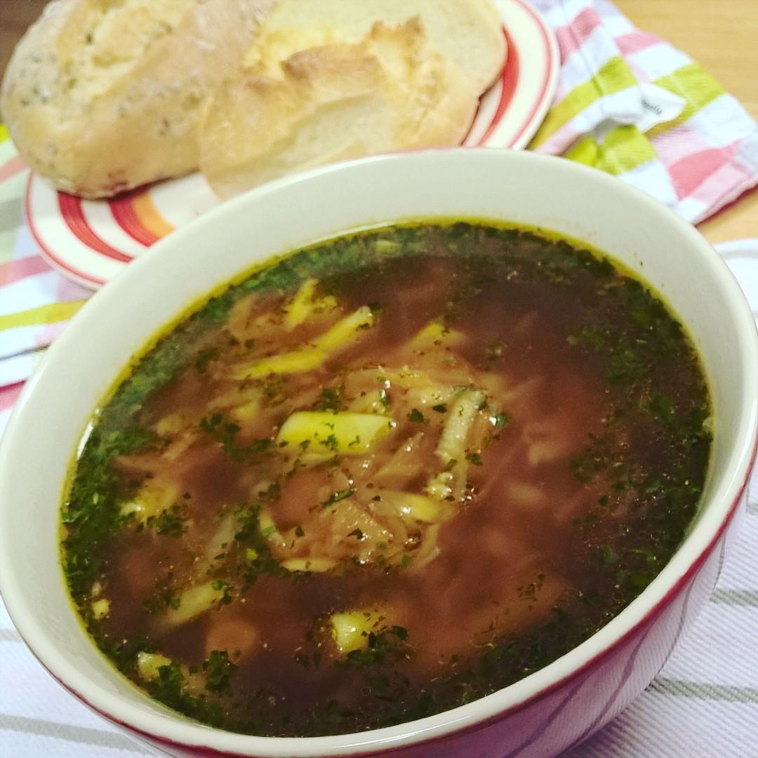 Zupa jarzynowa z kasząjaglaną