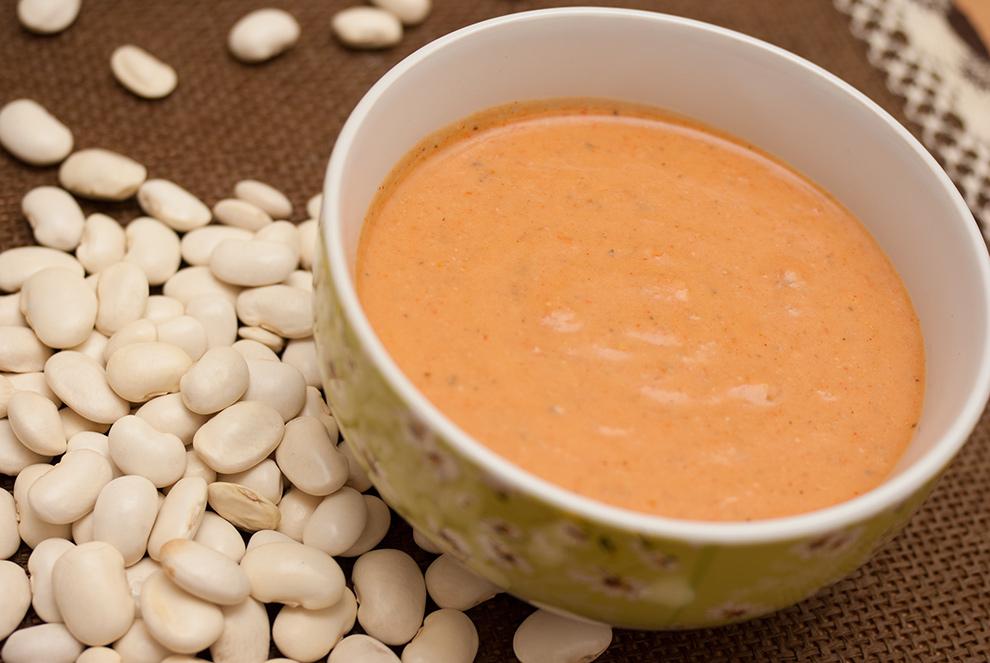 Zupa-krem z białejfasoli